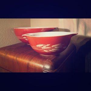 Pyrex Vintage Bowl Set